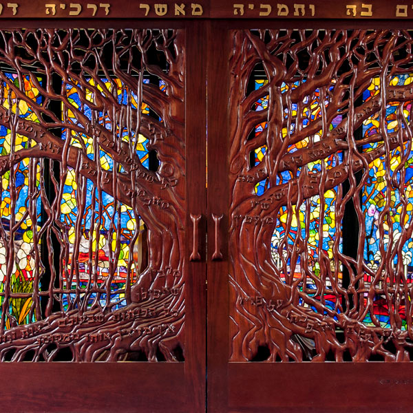 Tree Stained Glass Art