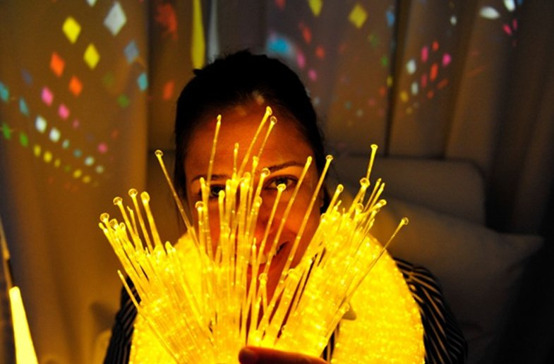 lights for multi-sensory therapy